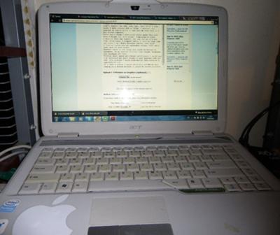Acer Aspire 4720Z screen