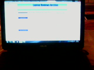 Asus K40AE Series screen