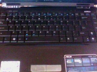 Asus K40AE Series keyboard