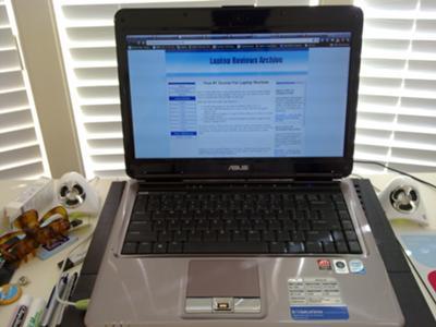Asus N81VP screen