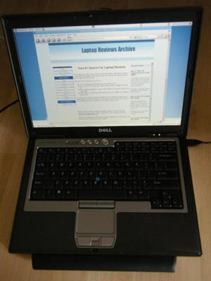 Dell Latitude D620 Full View