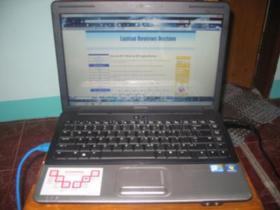 HP Compaq Presario CQ40-606TU screen