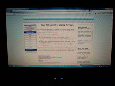 HP Compaq Presario CQ61 screen