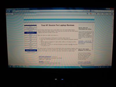 HP Compaq Presario CQ61 screen