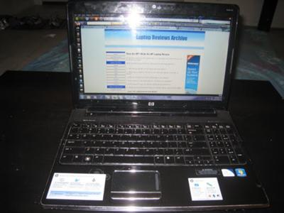 HP Pavilion dv6- 1334us front view