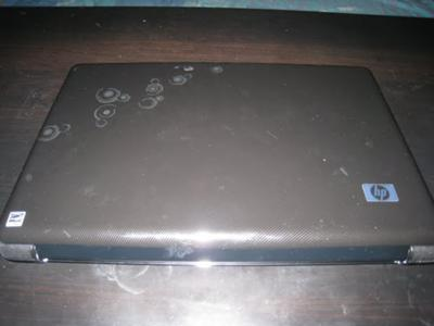 HP Pavilion dv6- 1334us top view