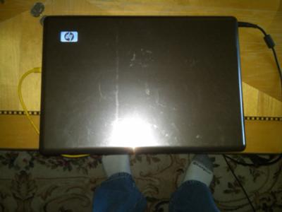 HP Pavilion dv7 Top of Laptop