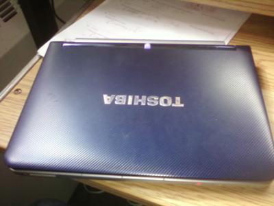 Toshiba NB 205 top