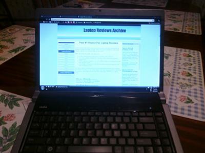 Dell Studio 1535 Web Browser