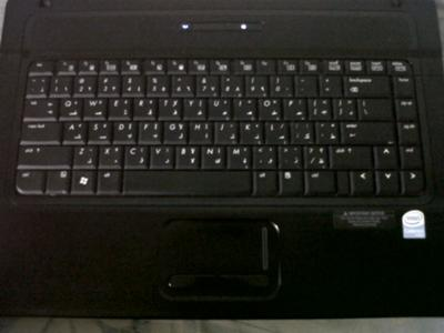 HP 630s keyboard